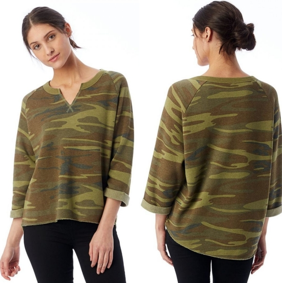 Alternative Camo Eco Fleece Sweatshirt